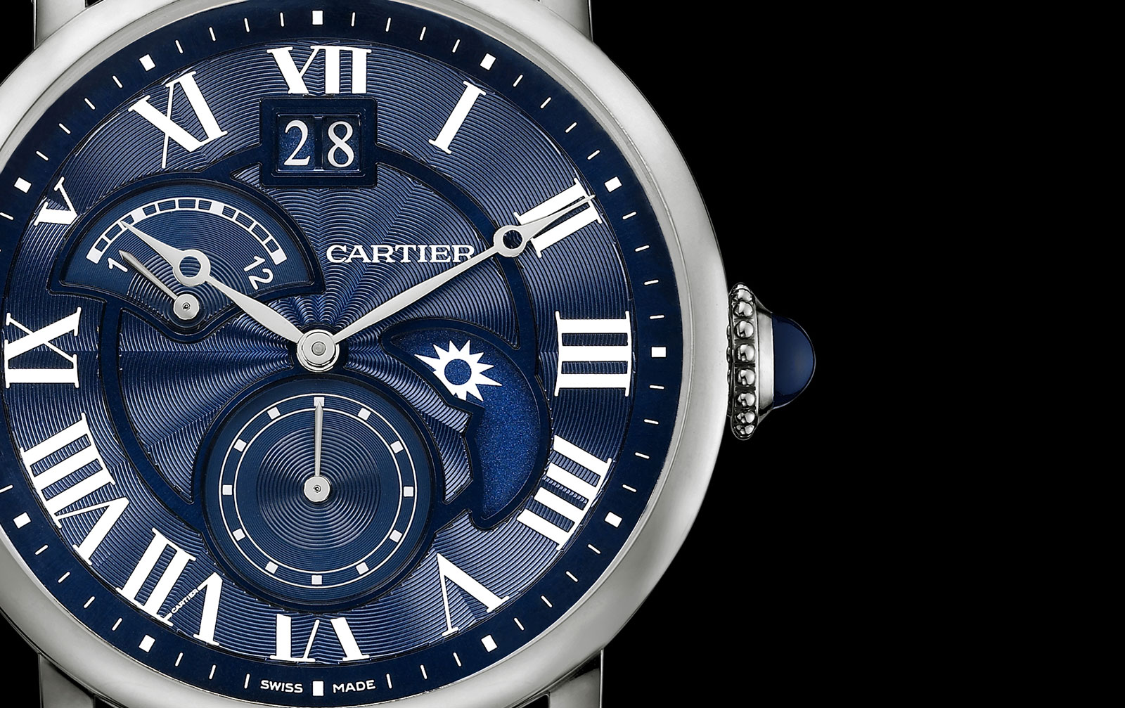 Rotonde-De-Cartier-Second-Time-Zone-Day-Night-white-gold