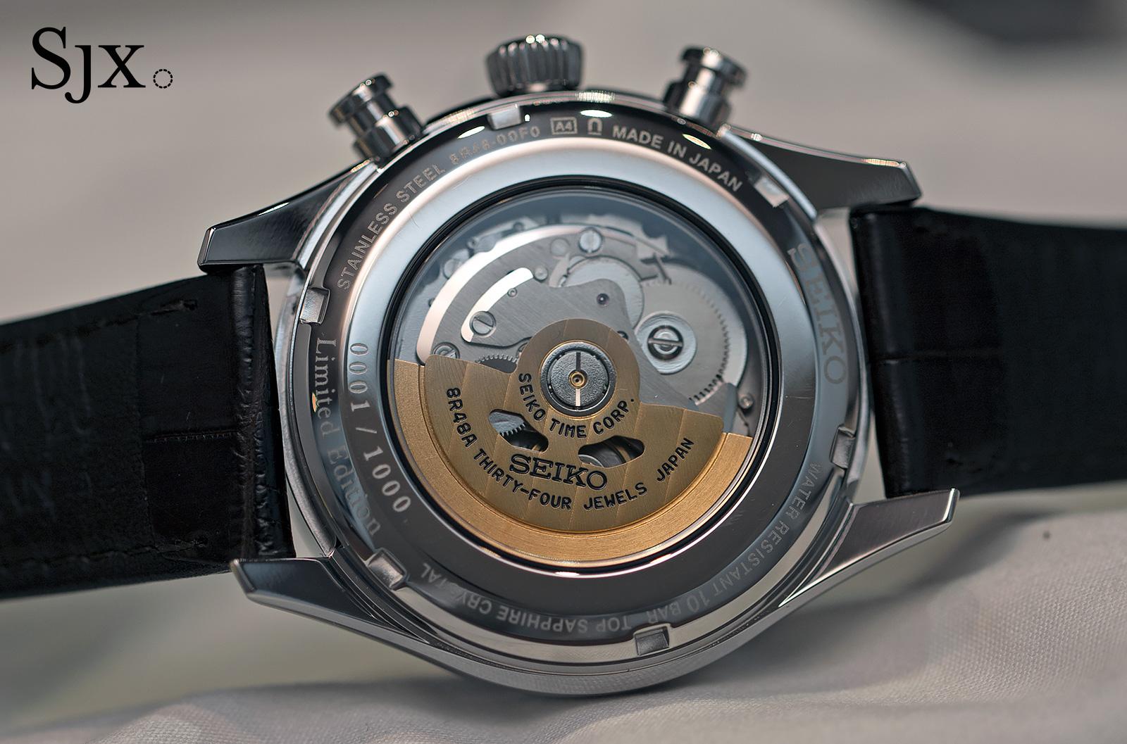 Seiko Presage 60th Anniversary Chronograph 1
