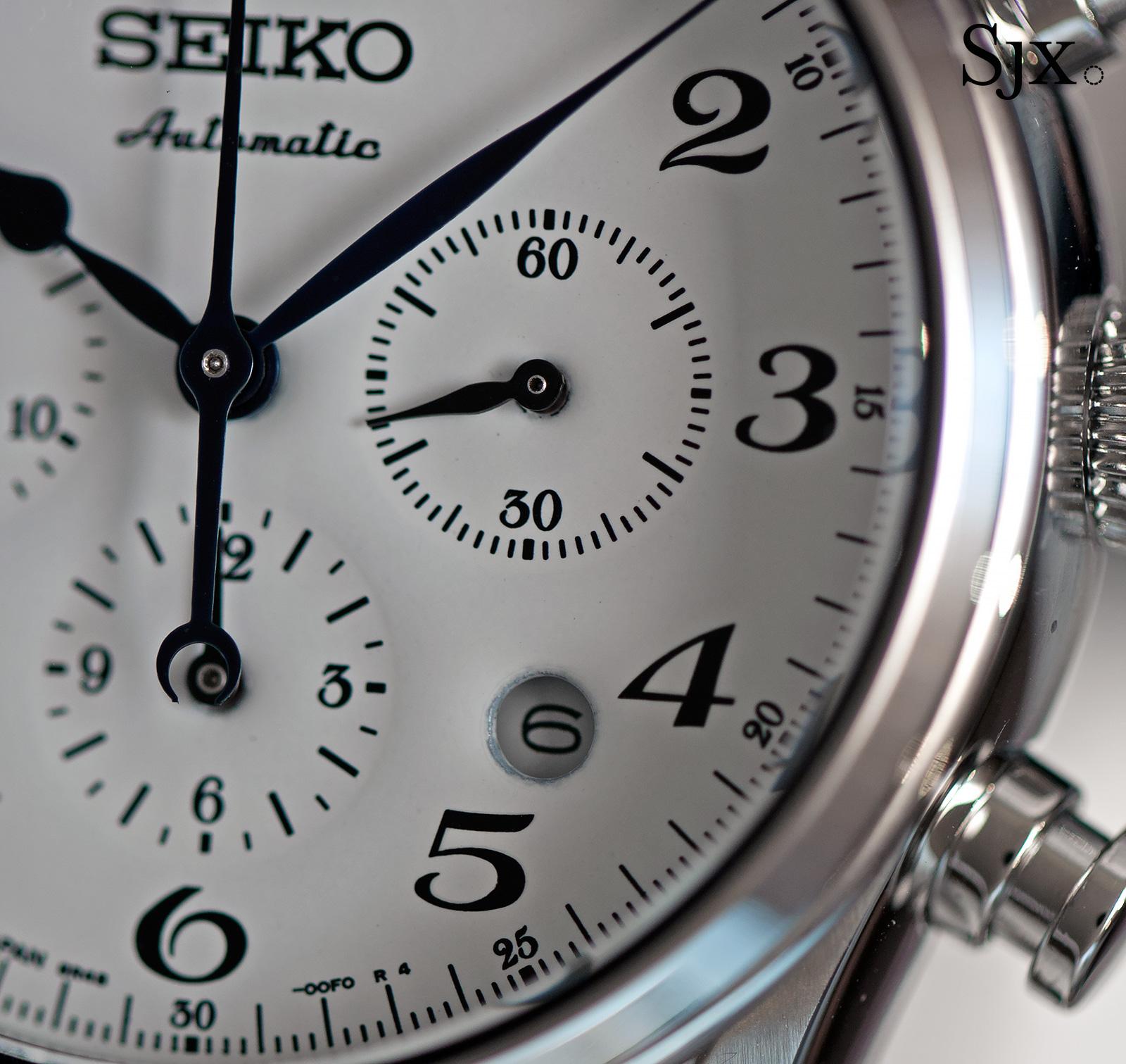 Seiko Presage 60th Anniversary Chronograph SRQ019 - 2