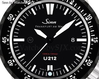 Sinn-U212-SDR-Tegiment-dial
