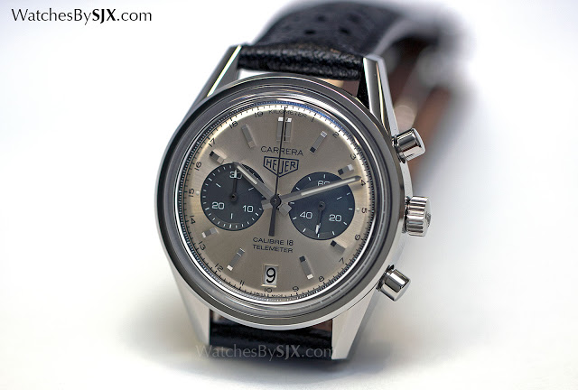 dae8e563a6b Hands-On with the TAG Heuer Carrera Calibre 18 Telemeter