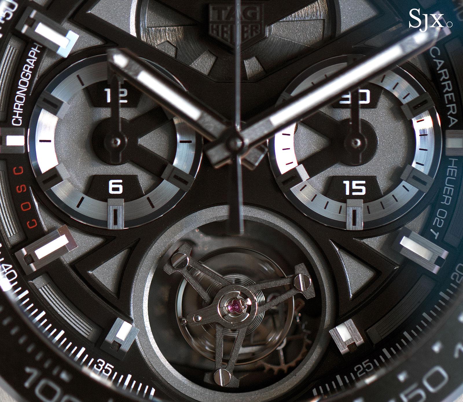 TAG Heuer Carrera Calibre Heuer 02T tourbillon chronograph