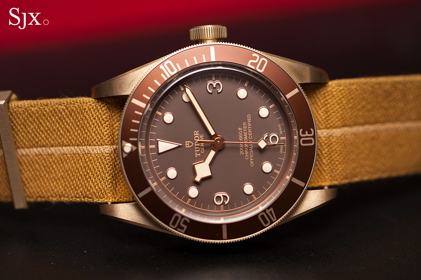 Tudor Black Bay Bronze NATO