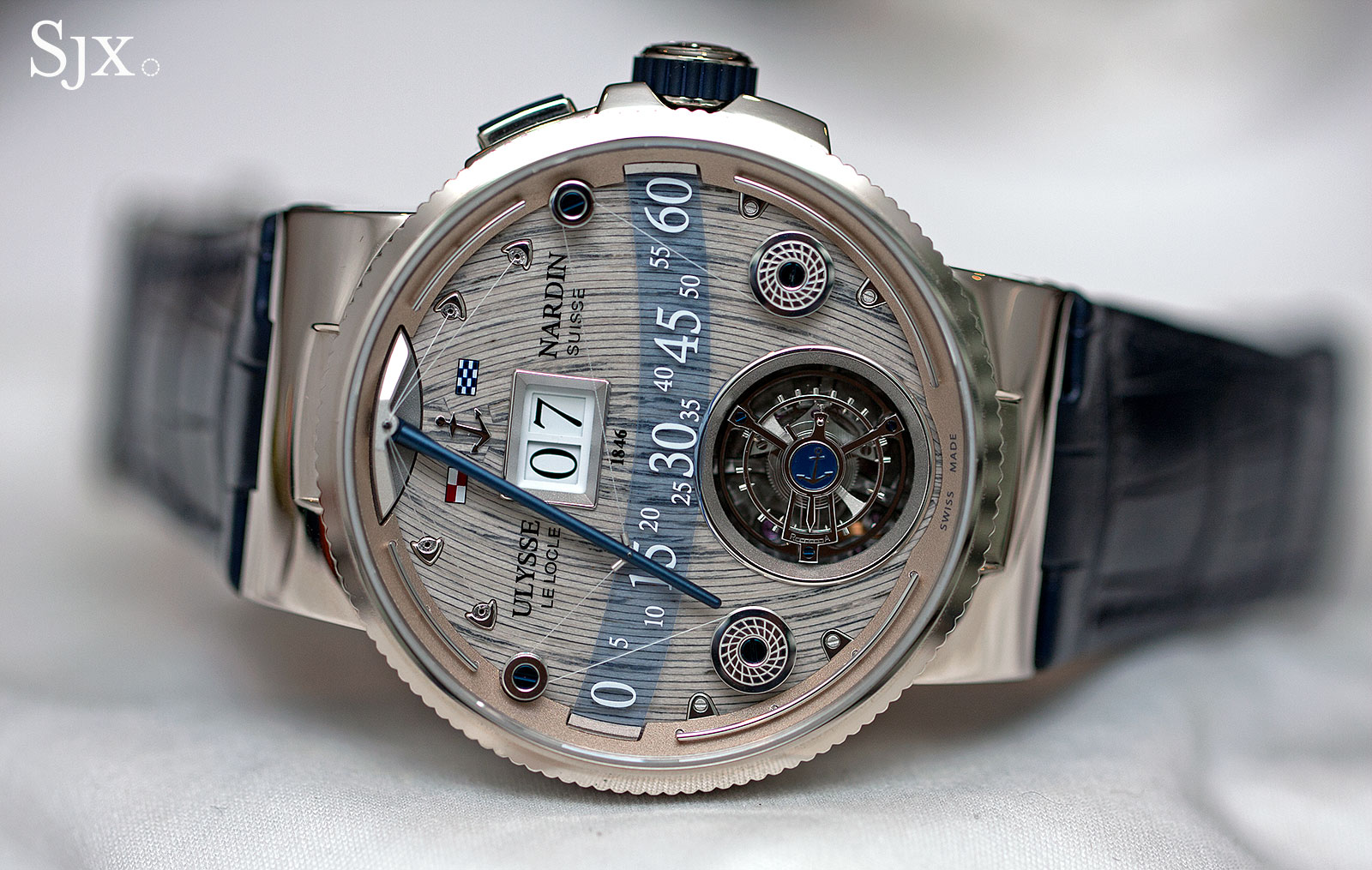 Ulysse-Nardin Grand Deck Marine Tourbillon