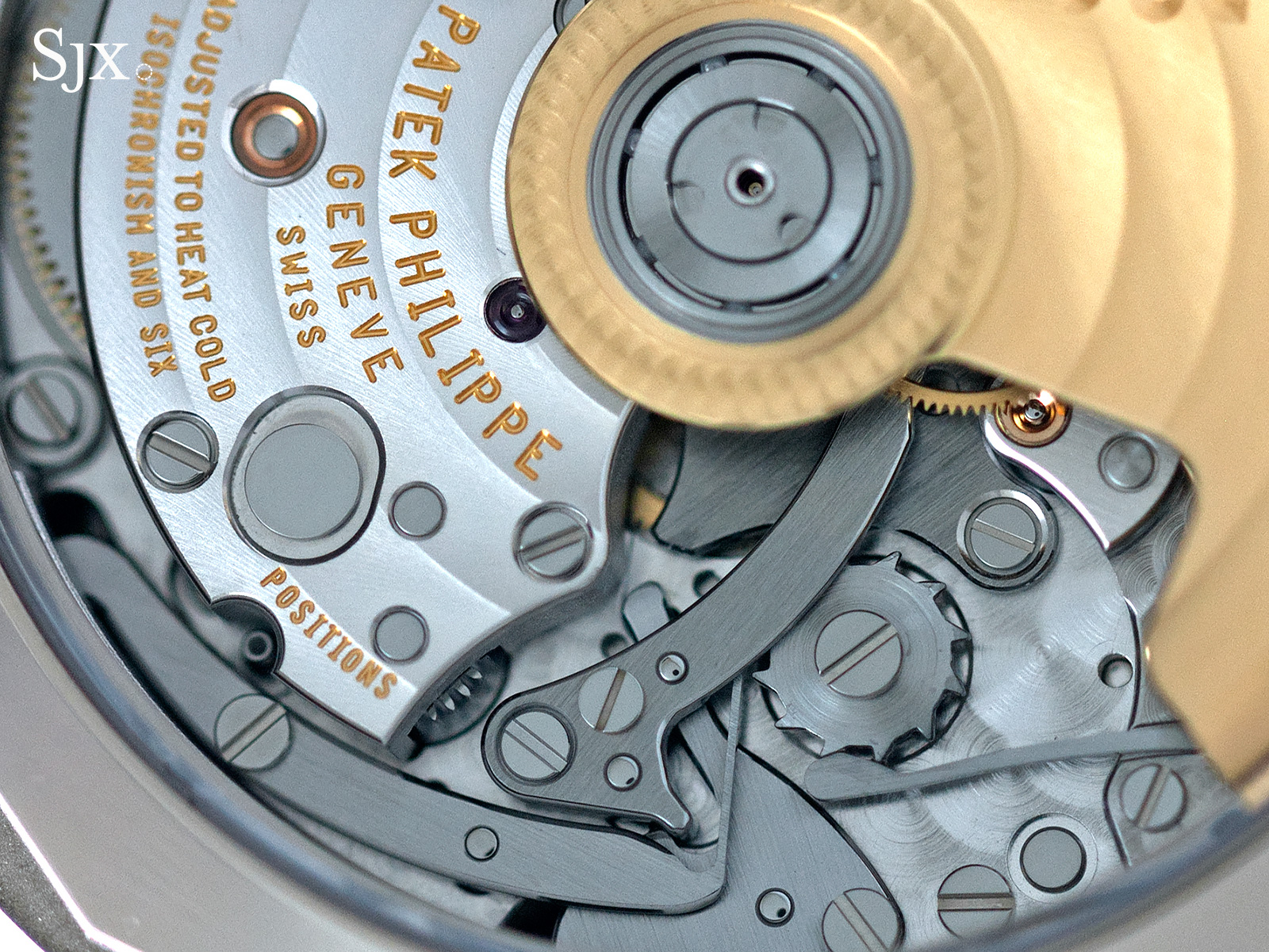 World Time Chronograph 5930 movement