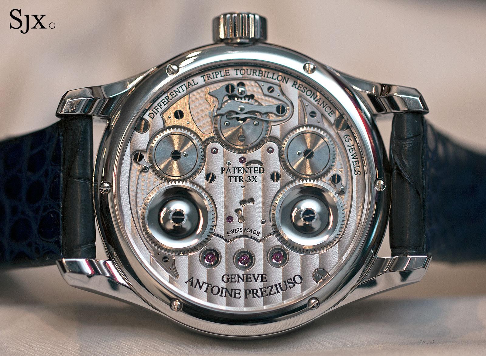 Antoine Preziuso Chronometer Tourbillon of Tourbillons 5