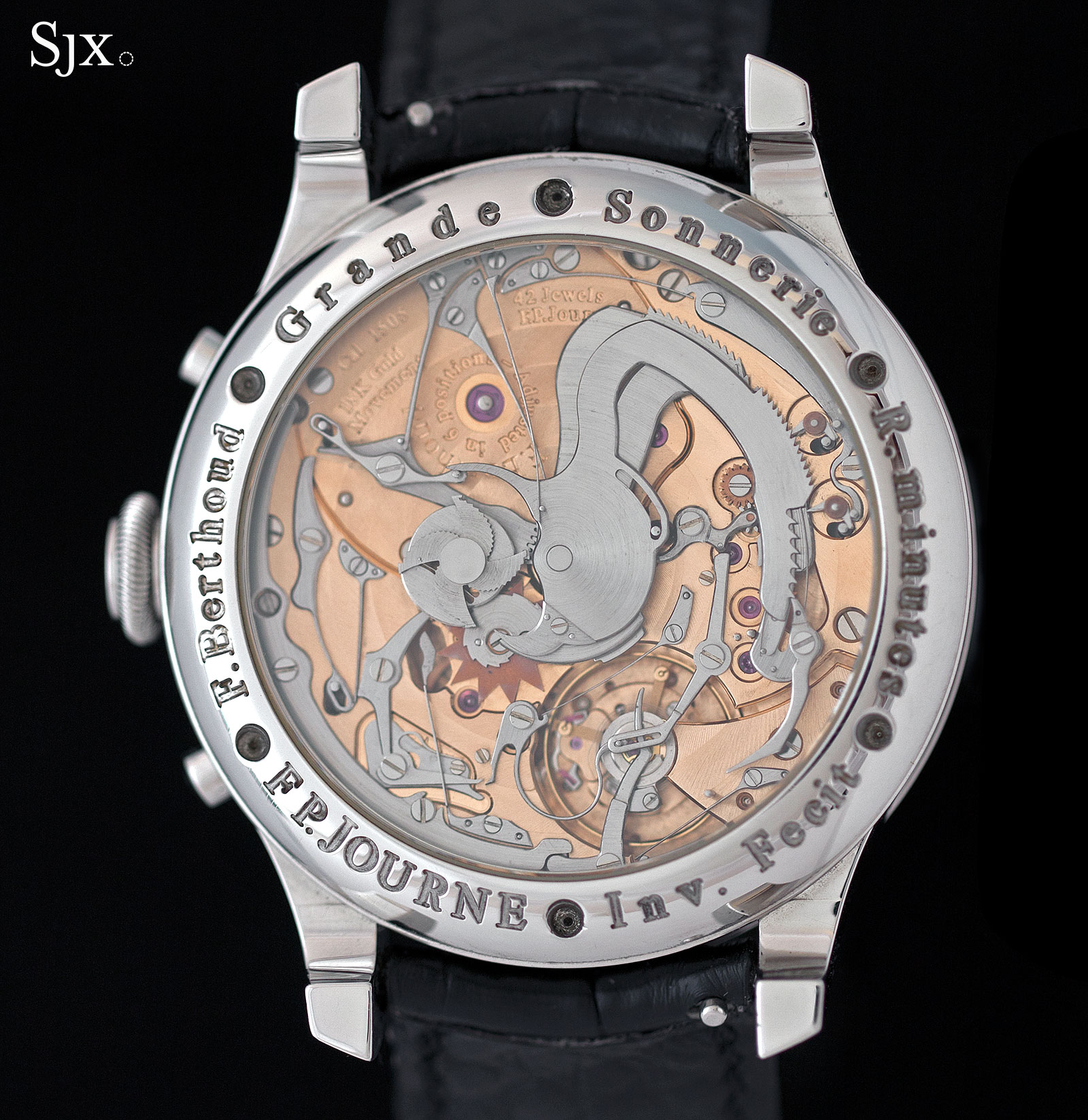 FP Journe Grande Sonnerie movement
