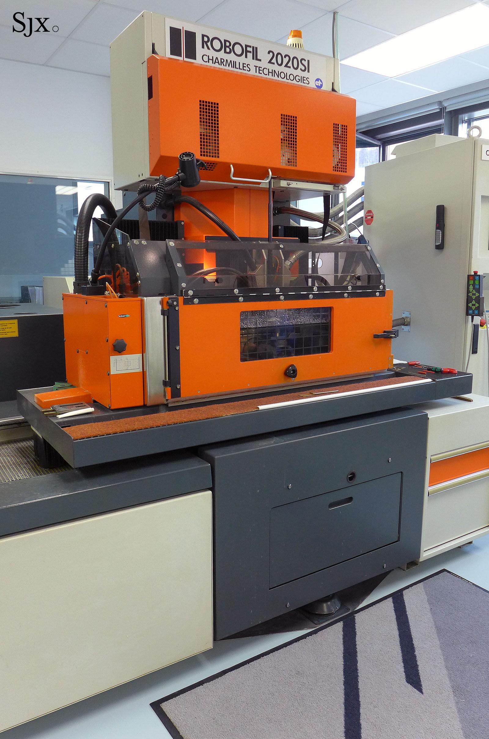 Glashütte Original EDM CNC