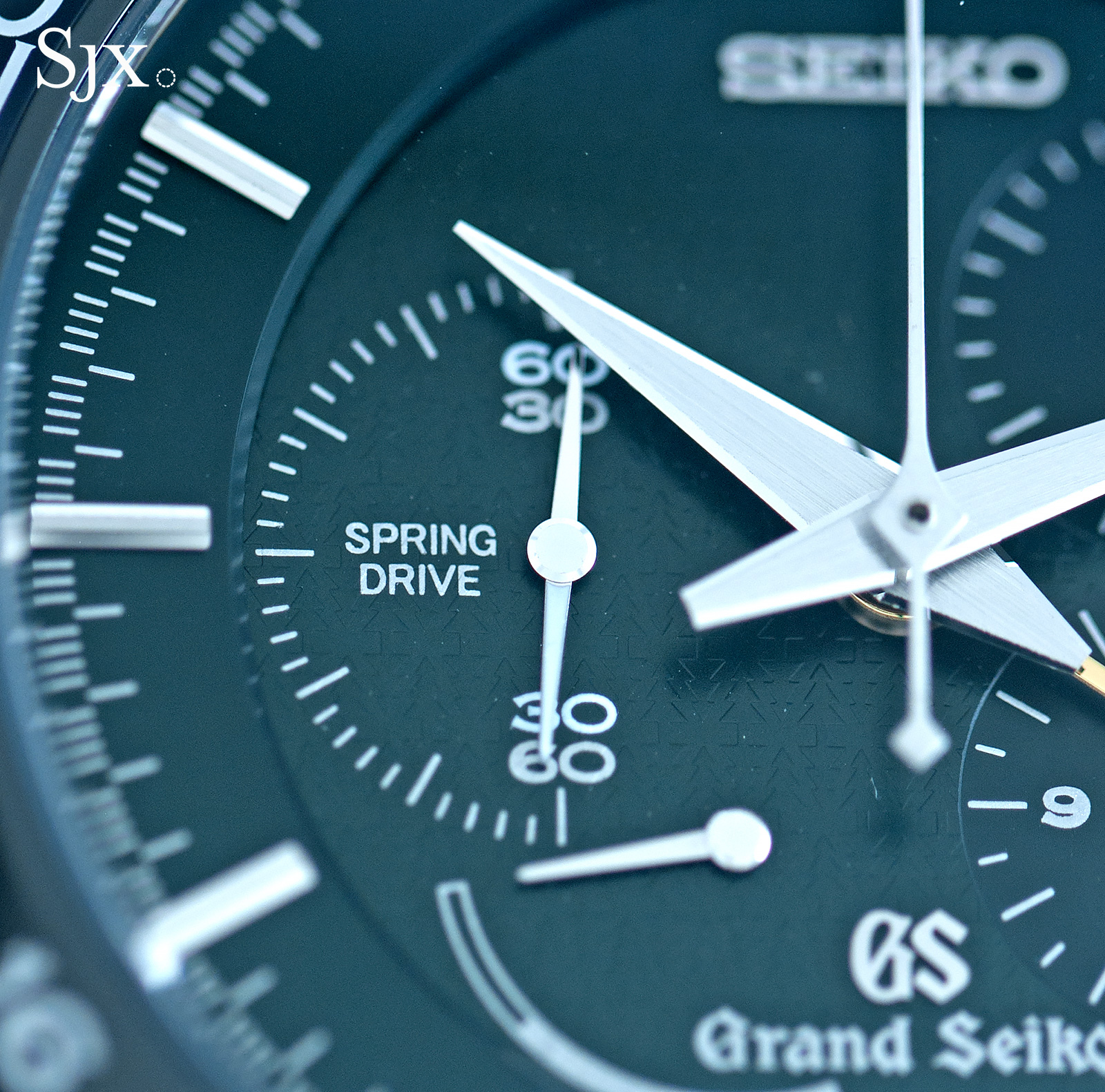 Grand Seiko Black Ceramic Spring Drive Chronograph SBGC017 2