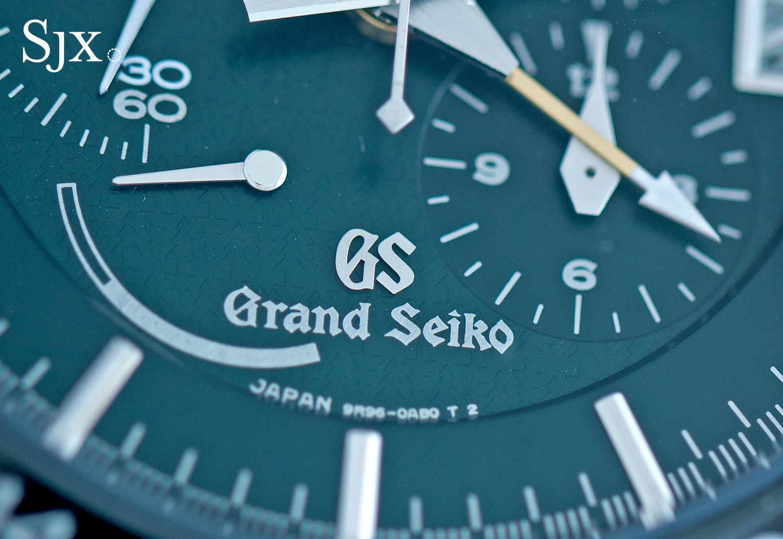 Grand Seiko Black Ceramic Spring Drive Chronograph SBGC017 3