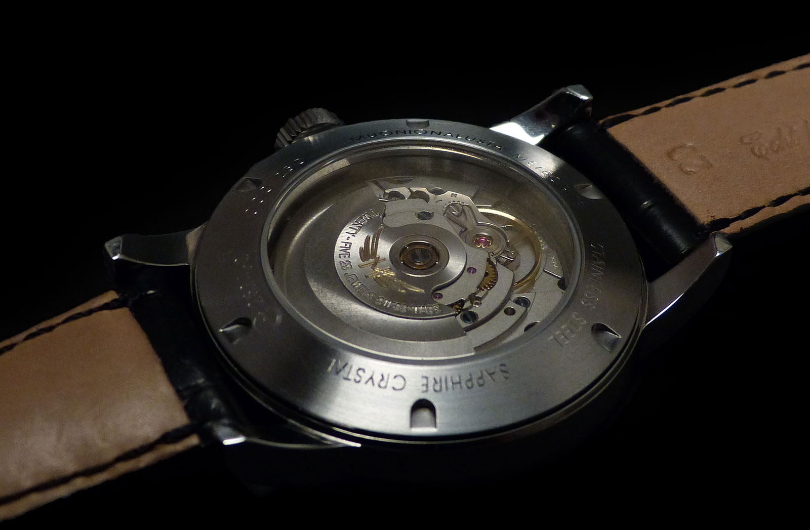 Horae Volant Black Meteorite watch 3