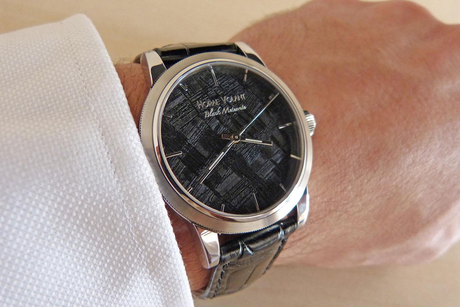 Horae Volant Black Meteorite watch 5