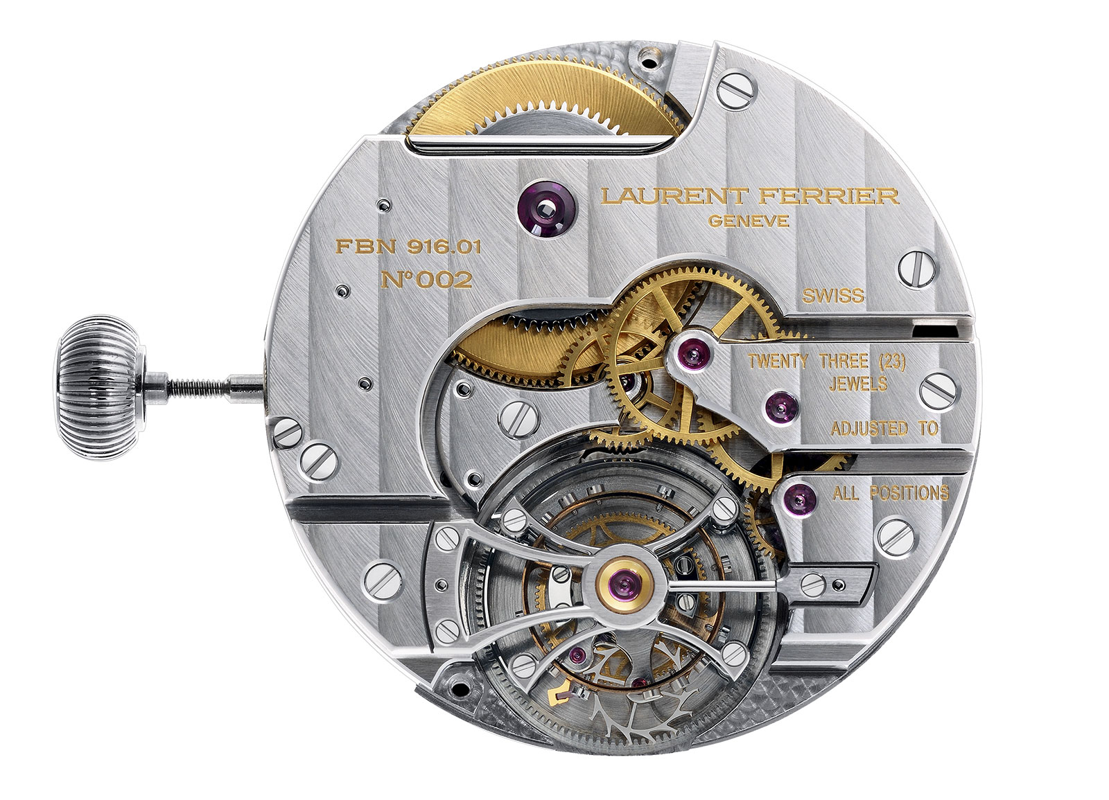 Laurent Ferrier tourbillon movement FBN916.01