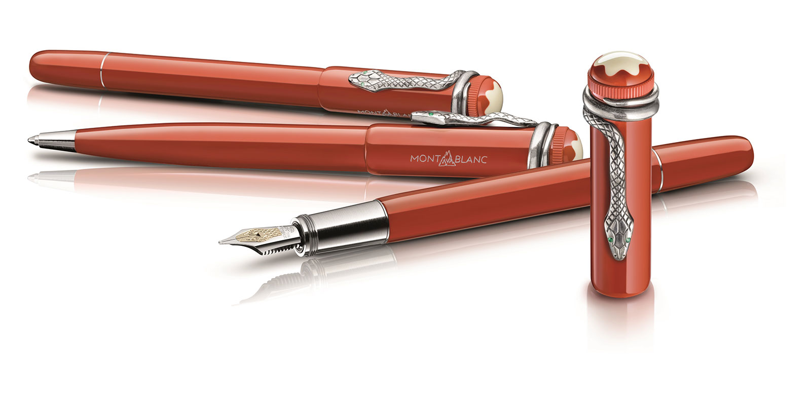 Montblanc Heritage Collection Rouge & Noir Coral