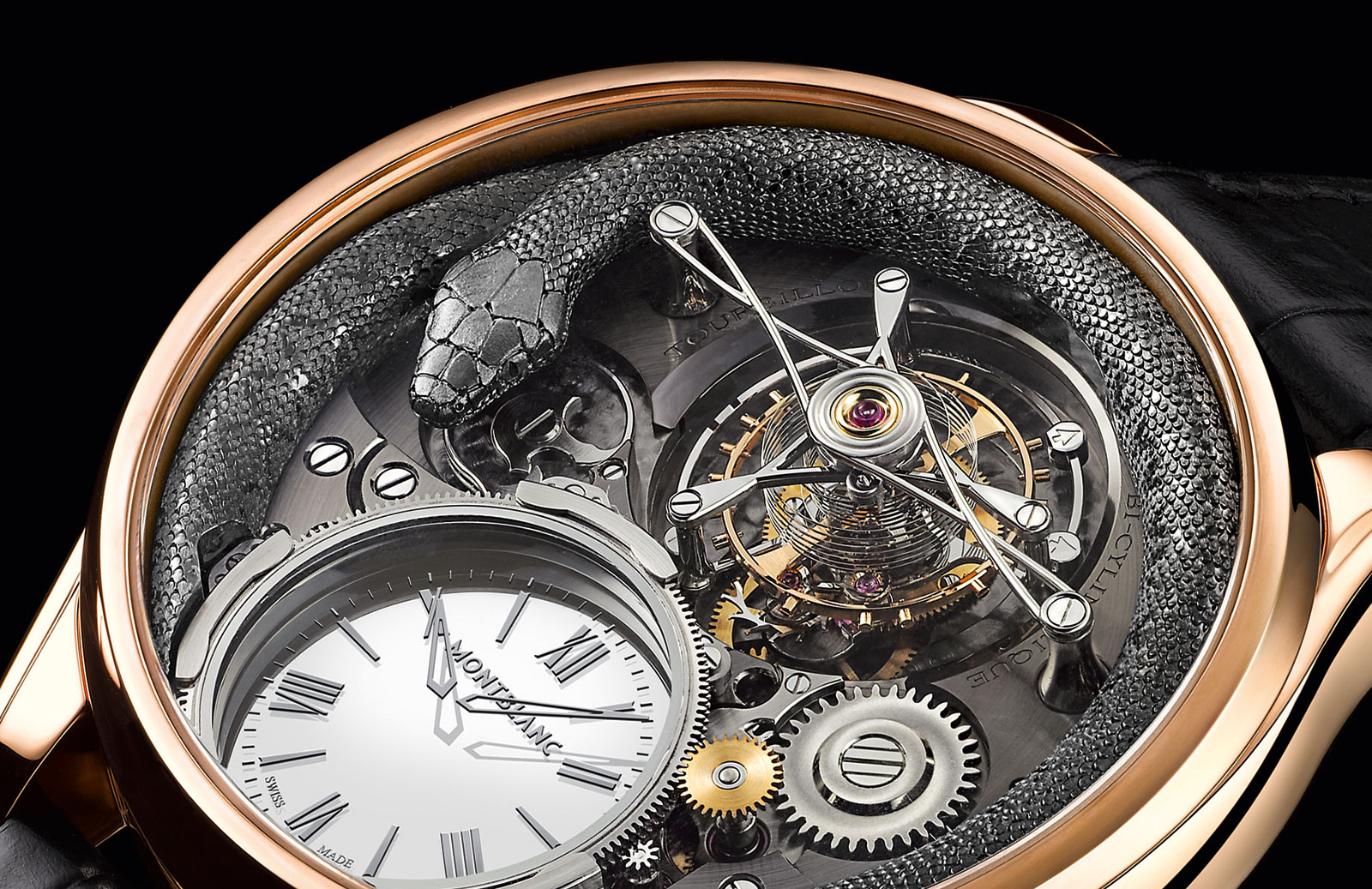 Montblanc Tourbillon Bi-Cylindrique 110 Years Anniversary Limited Edition 1