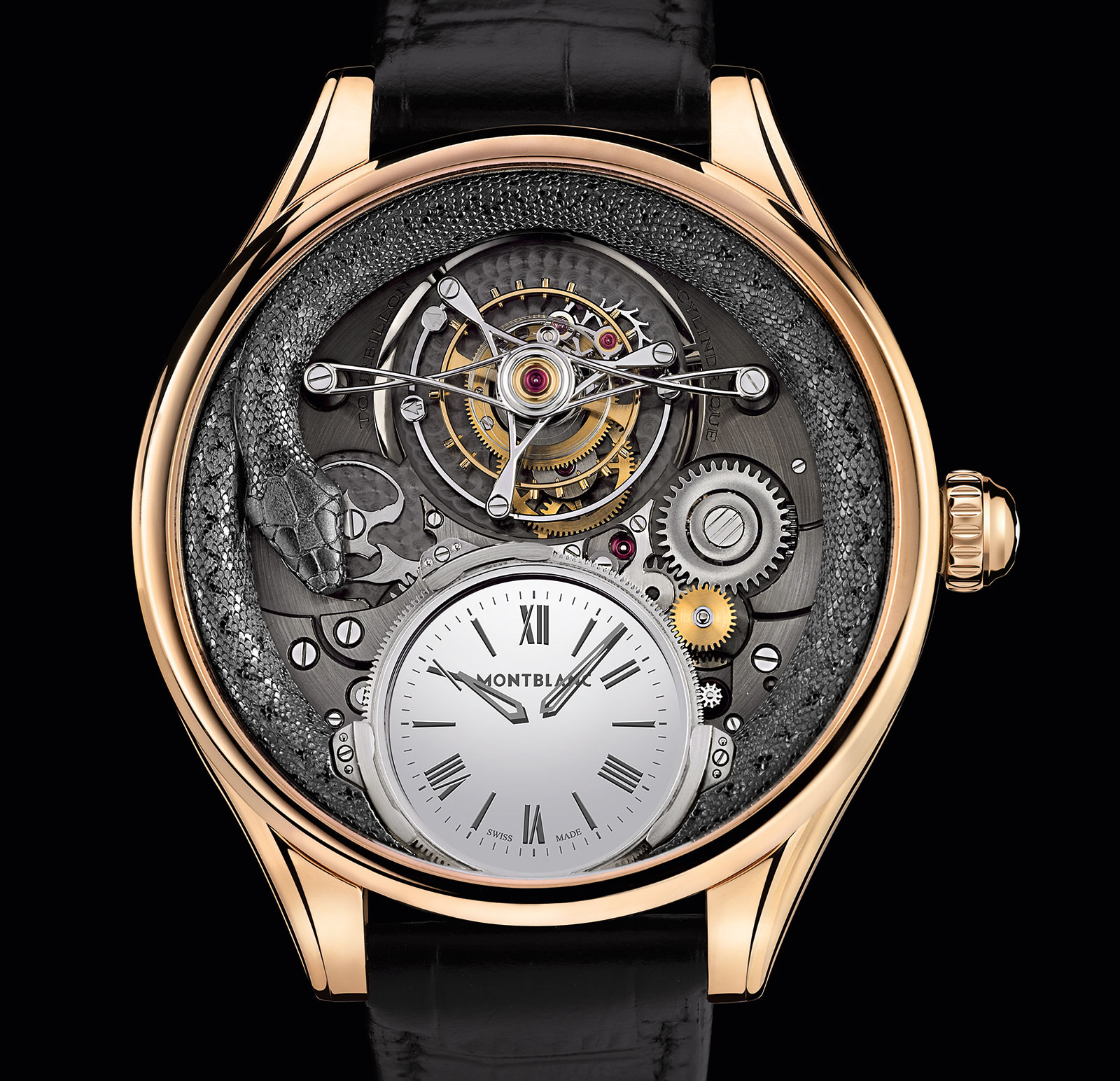 Montblanc Tourbillon Bi-Cylindrique 110 Years Anniversary Limited Edition 2