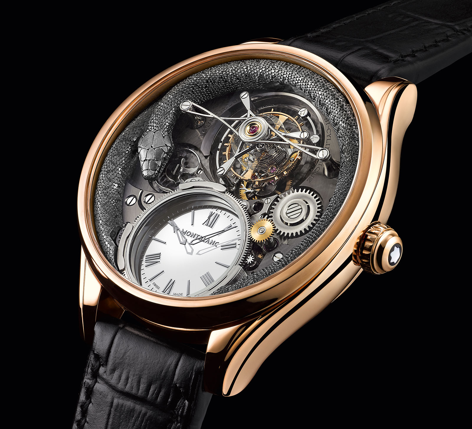 Montblanc Tourbillon Bi-Cylindrique 110 Years Anniversary Limited Edition 3