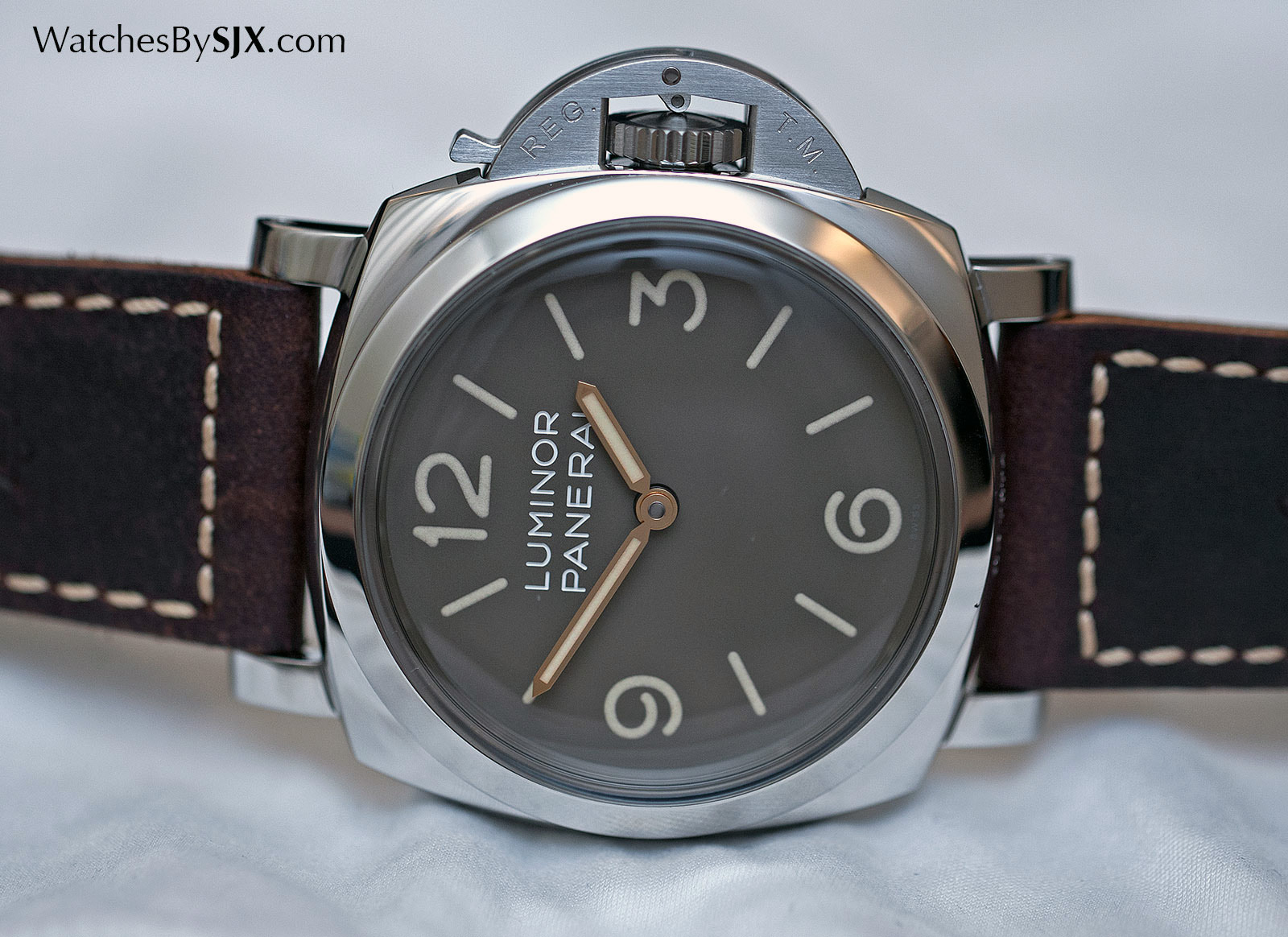 Panerai Luminor 1950 3 Days Acciaio tropical PAM663