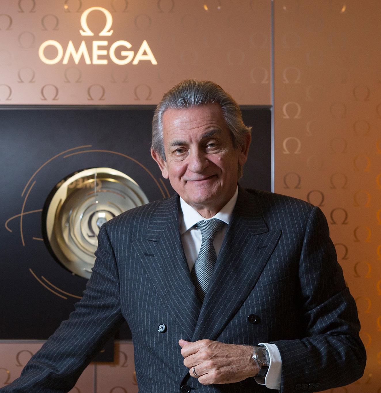Stephen Urquhart Omega CEO portrait
