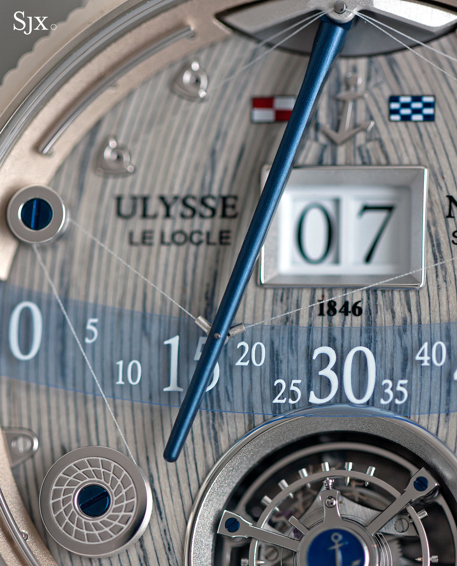 Ulysse-Nardin Grand Deck Marine Tourbillon 2