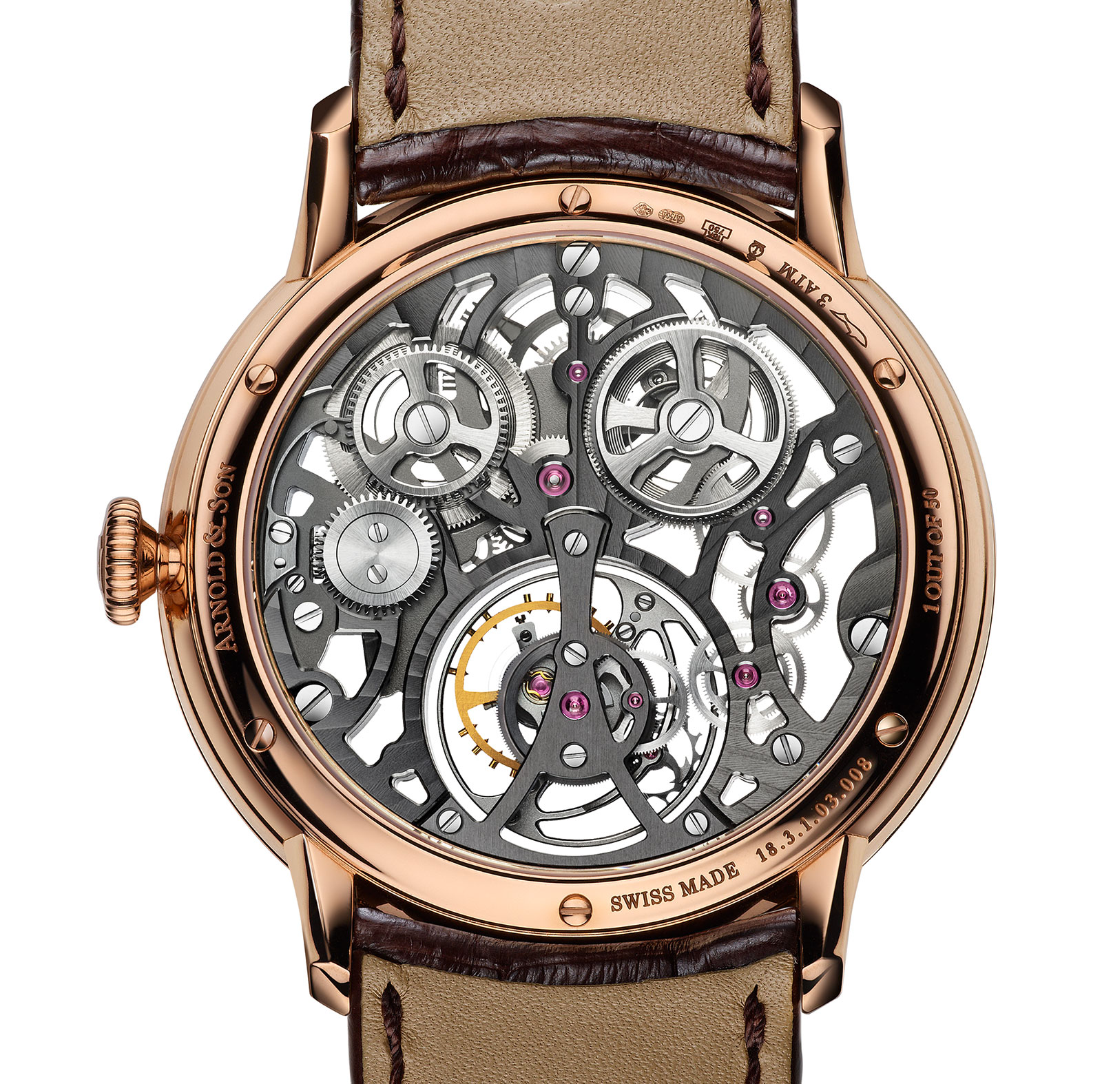 Arnold & Son UTTE Skeleton 1