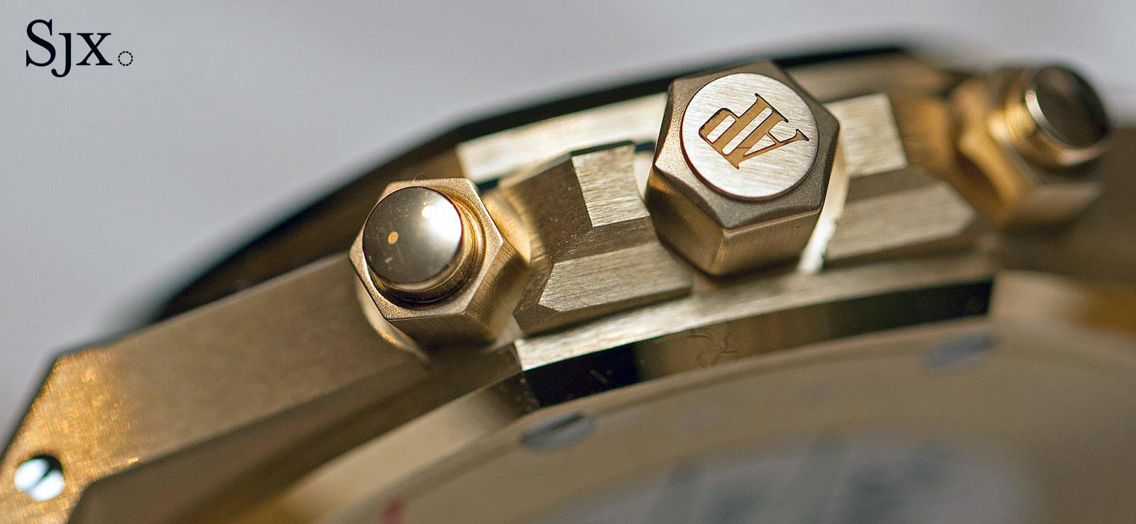 Audemars Piguet Royal Oak Chronograph 41 mm yellow gold 8