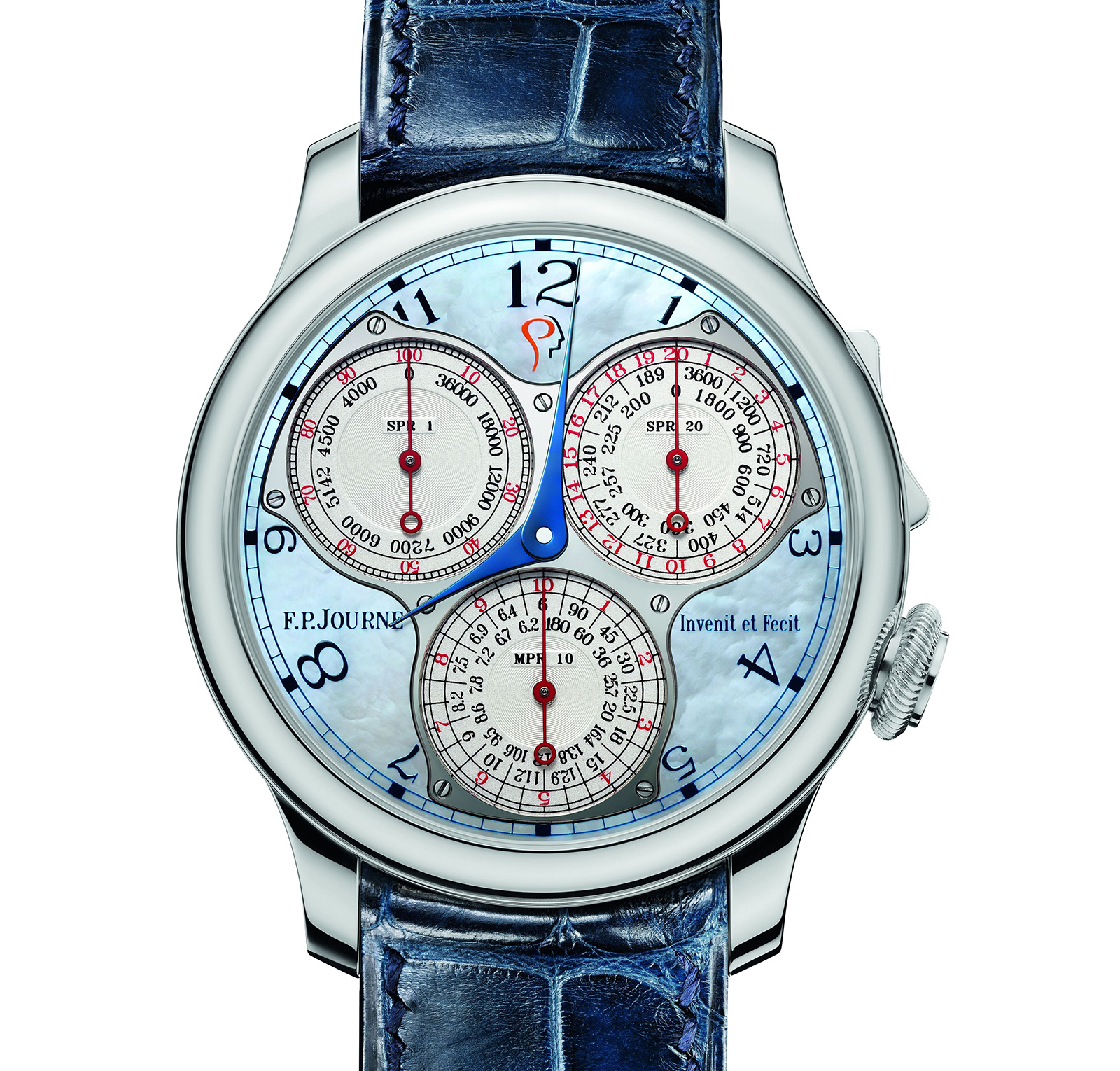 FP Journe Centigraphe ICM Blue mother of pearl 1