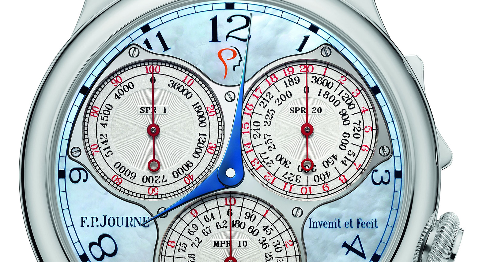 FP Journe Centigraphe ICM Blue mother of pearl 2