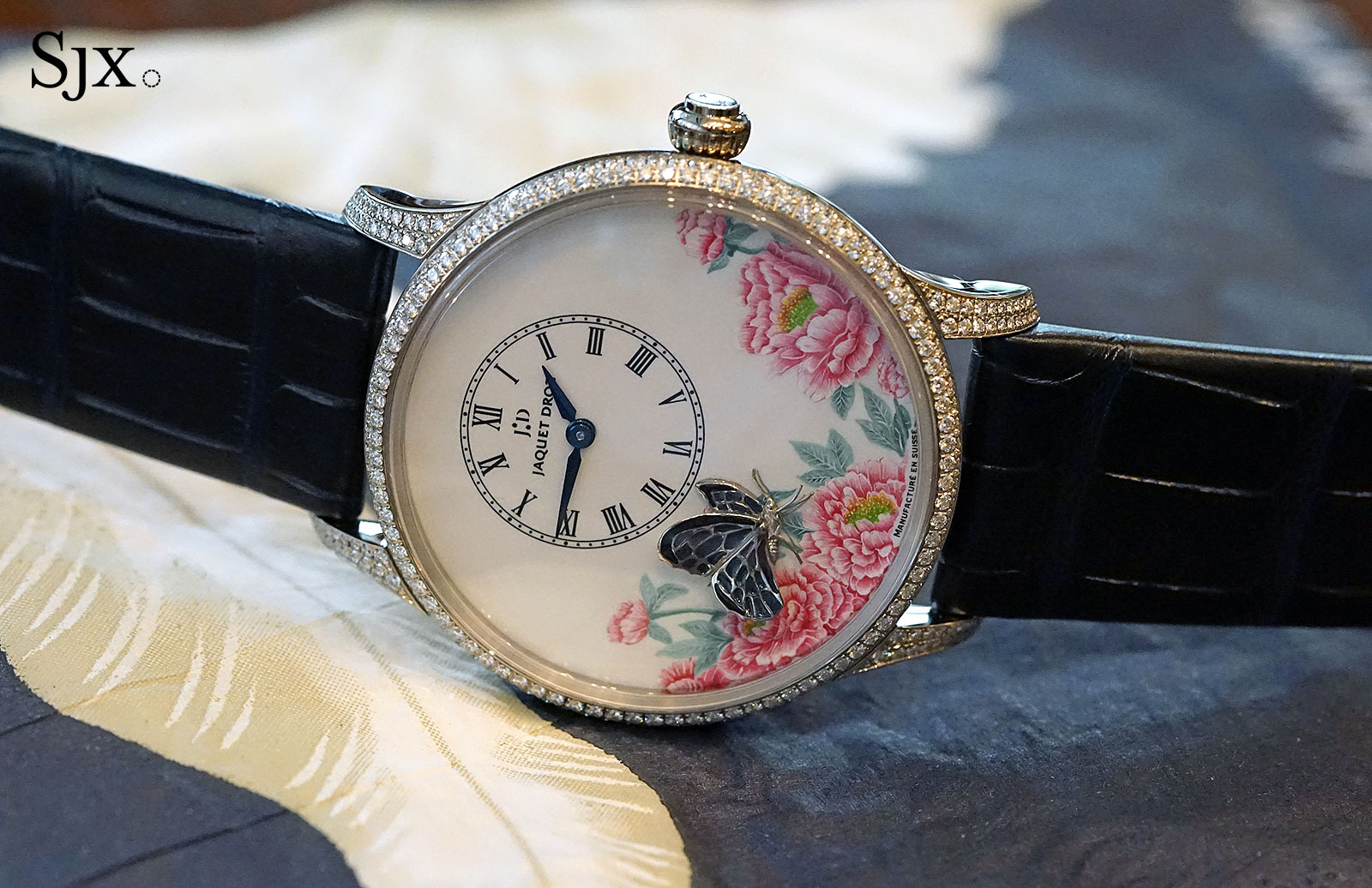 Jaquet Droz Petite Heure Minute The Butterfly Journey 1