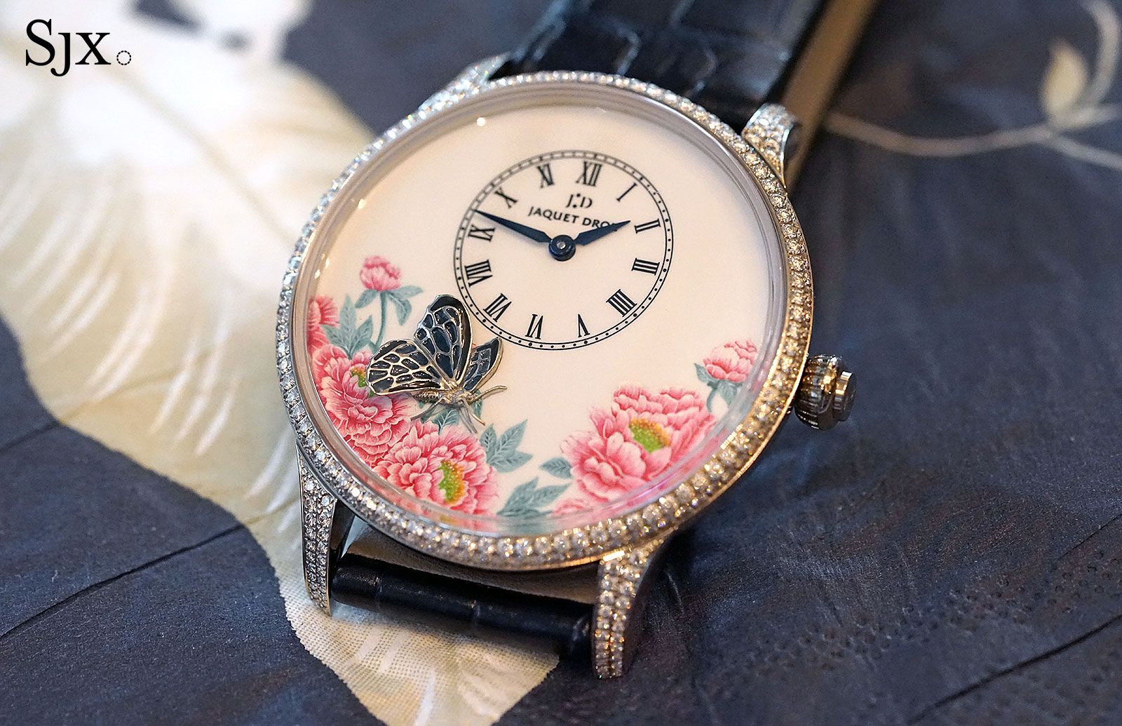 Jaquet Droz Petite Heure Minute The Butterfly Journey 2