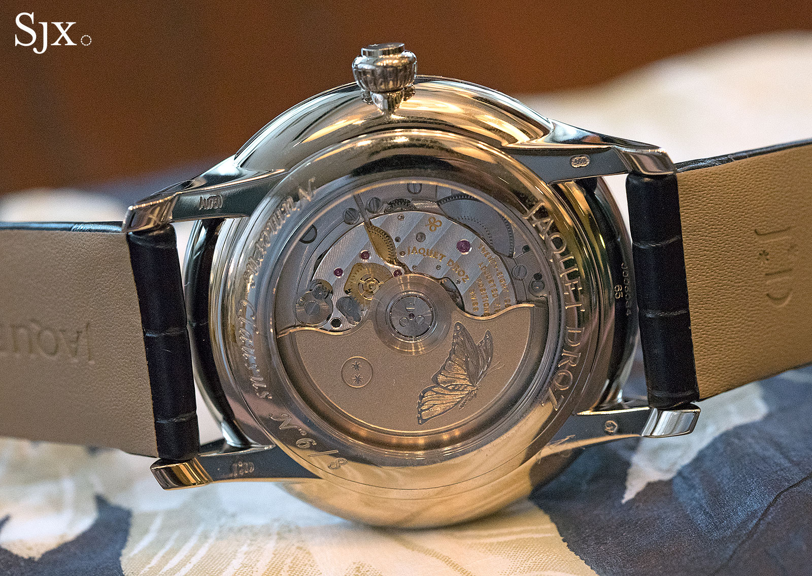 Jaquet Droz Petite Heure Minute The Butterfly Journey 3