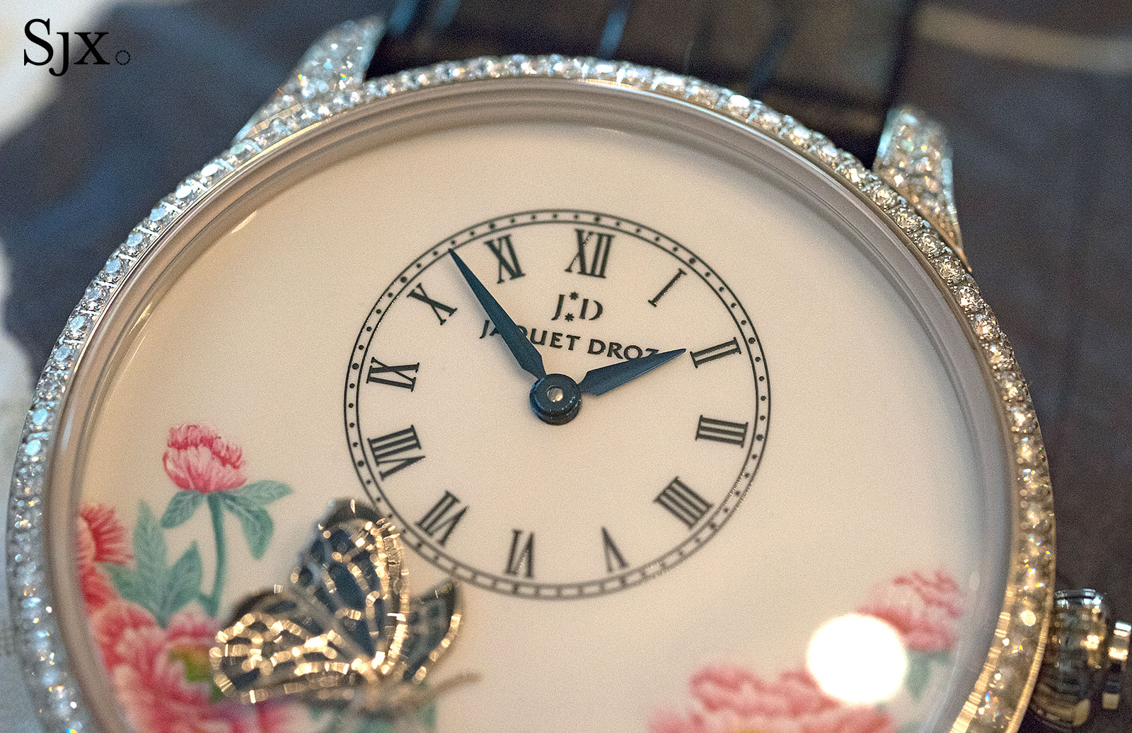 Jaquet Droz Petite Heure Minute The Butterfly Journey 5