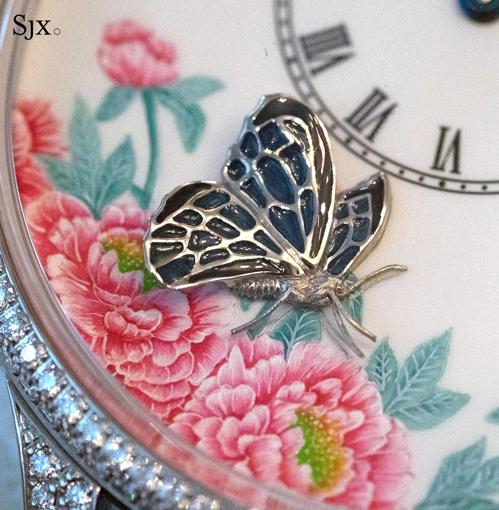 Jaquet Droz Petite Heure Minute The Butterfly Journey 6