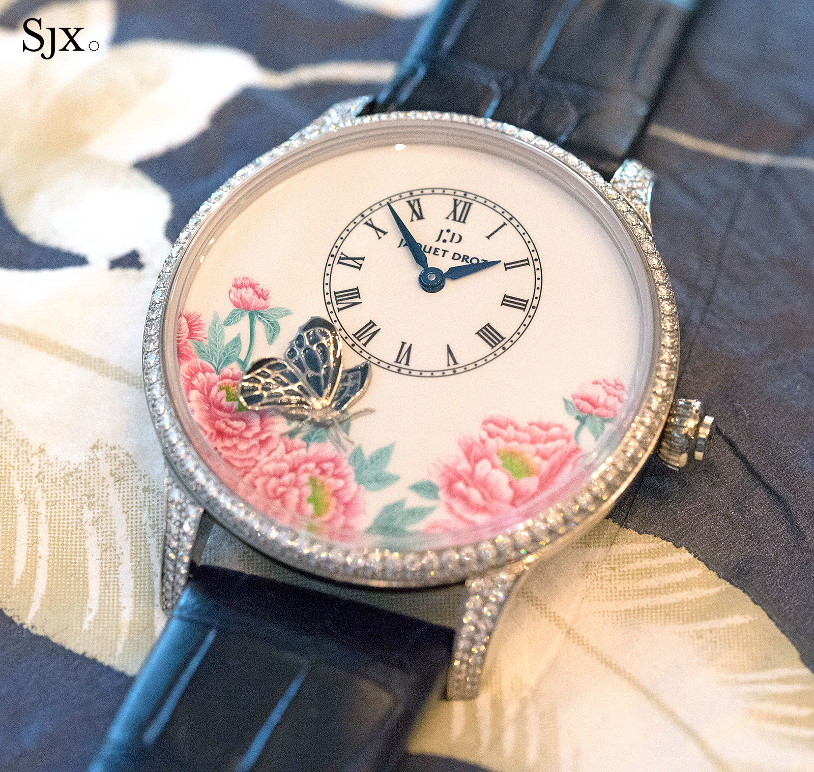 Jaquet Droz Petite Heure Minute The Butterfly Journey 7