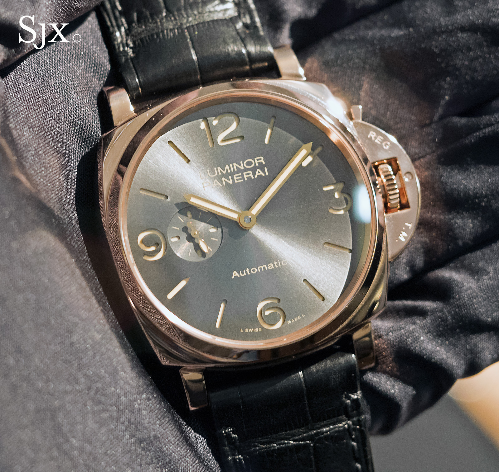 Panerai Luminor Due Red Gold Automatic 45mm PAM675 - 1