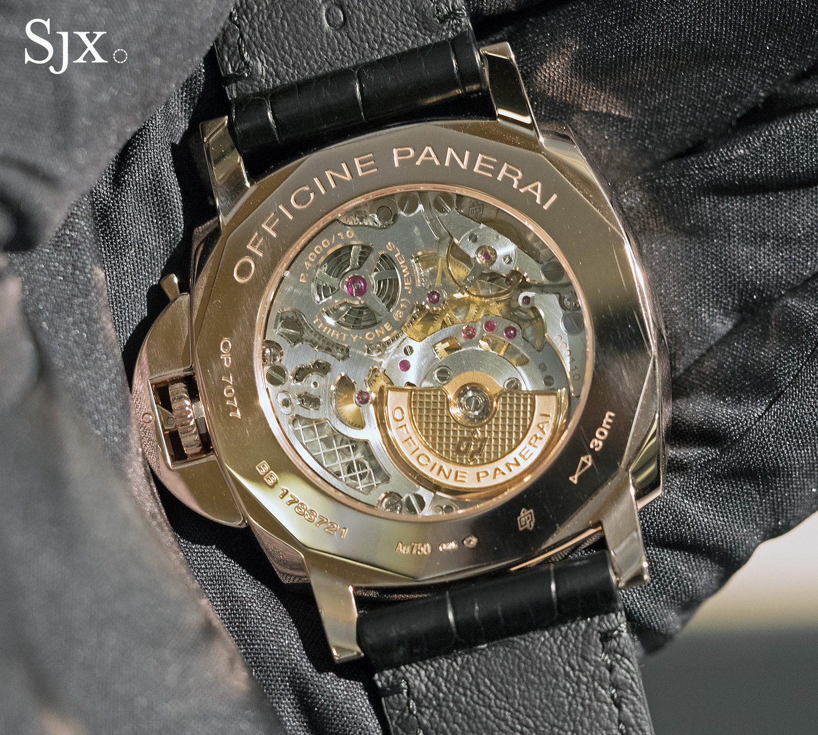 Panerai Luminor Due Red Gold Automatic 45mm PAM675 - 4
