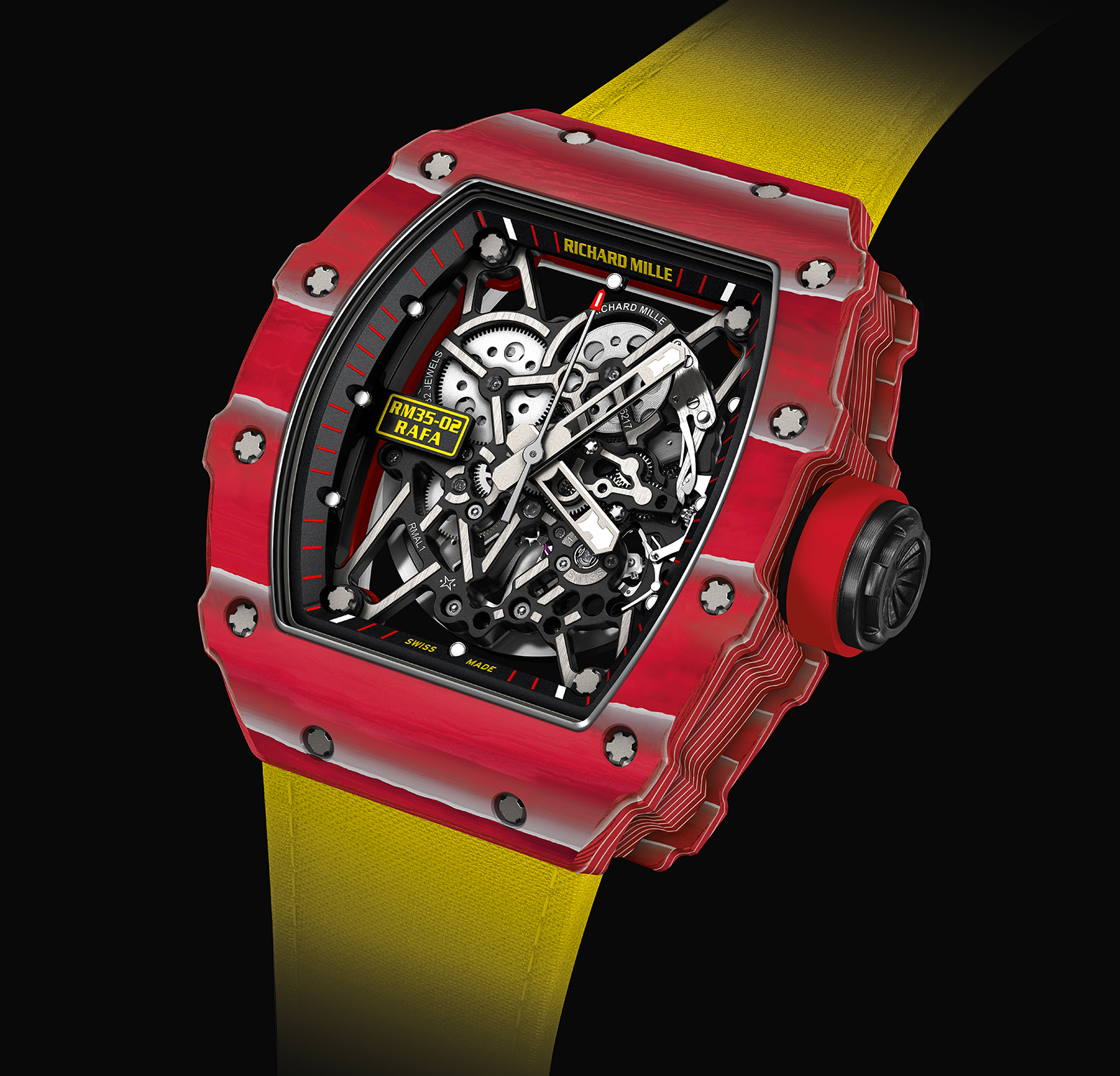 Richard Mille RM 35-02 Rafael Nadal Red Quartz TPT 1
