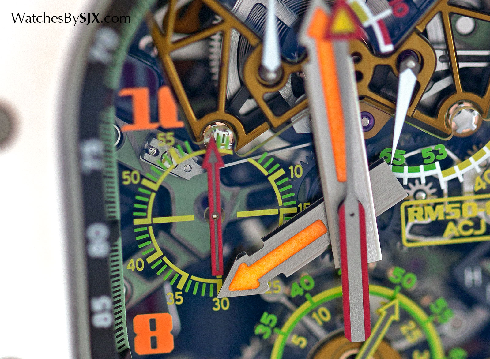 Richard Mille RM 50-02 ACJ Tourbillon Split Seconds Chronograph 1