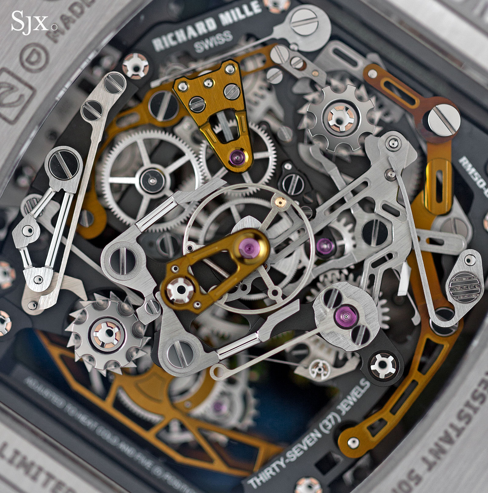 Richard Mille RM 50-02 ACJ Tourbillon Split Seconds Chronograph 15