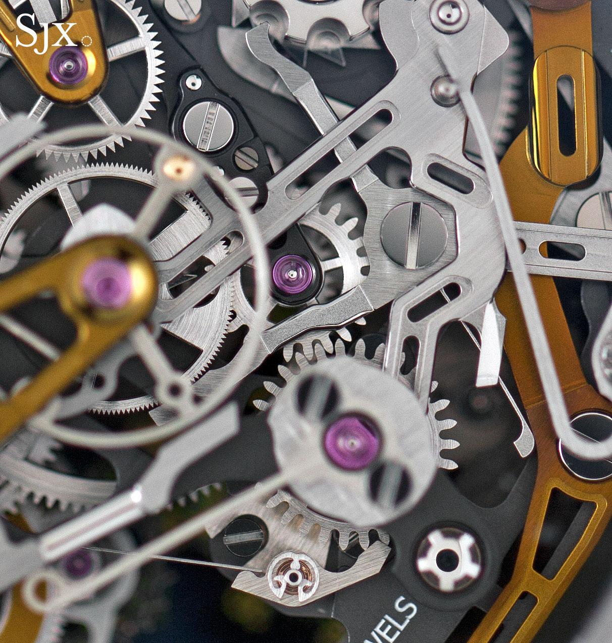 Richard Mille RM 50-02 ACJ Tourbillon Split Seconds Chronograph 16