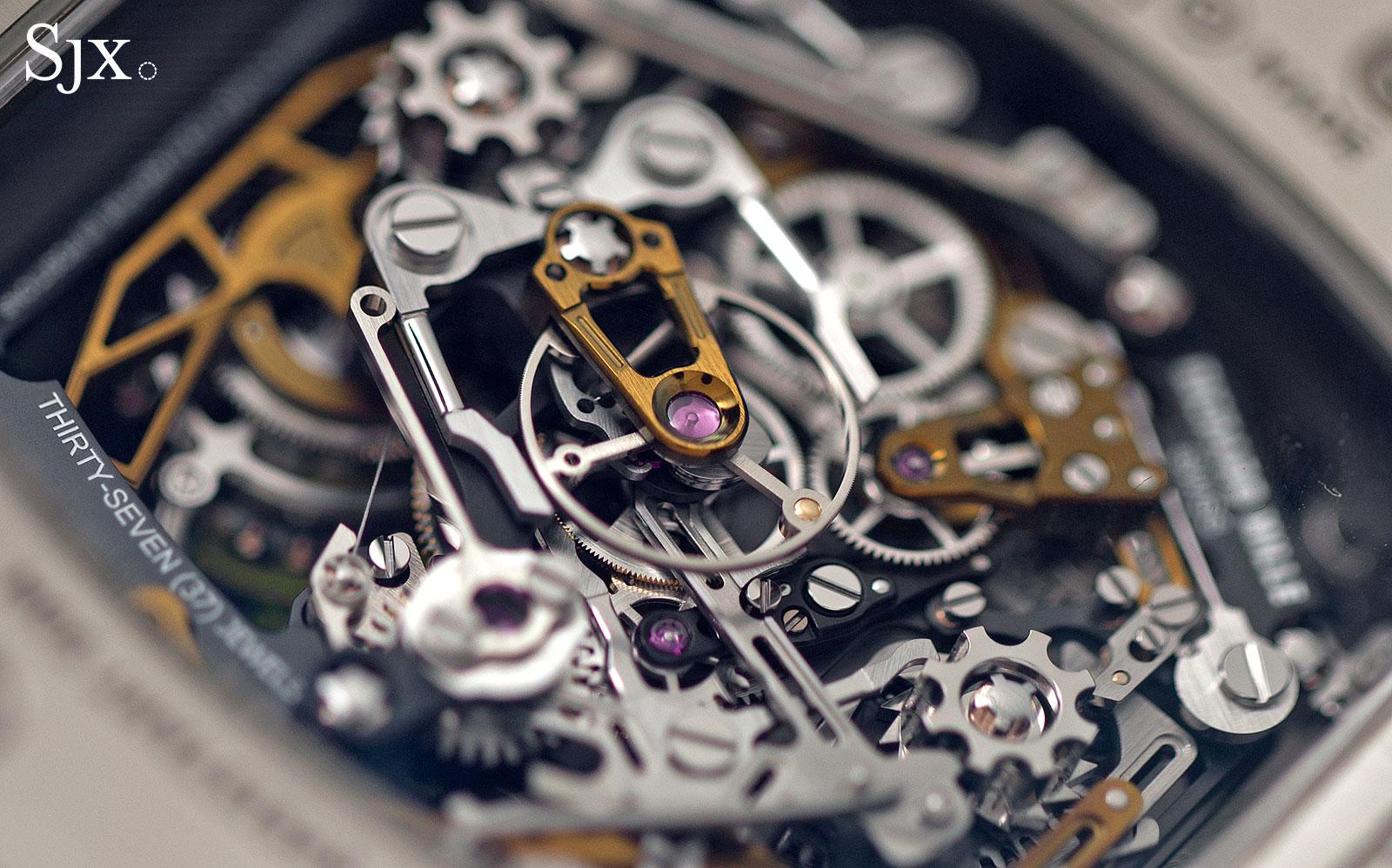 Richard Mille RM 50-02 ACJ Tourbillon Split Seconds Chronograph 17