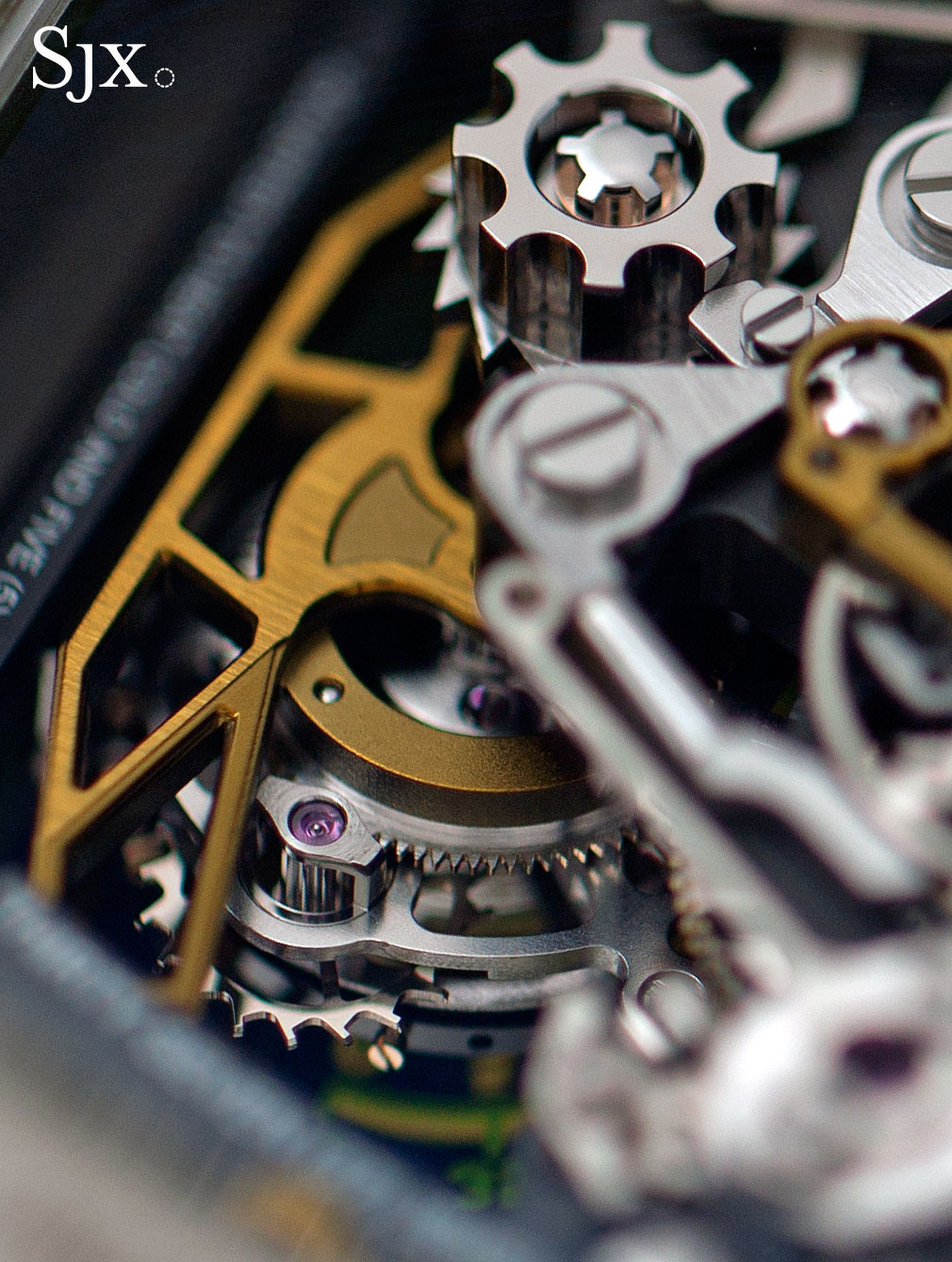 Richard Mille RM 50-02 ACJ Tourbillon Split Seconds Chronograph 18