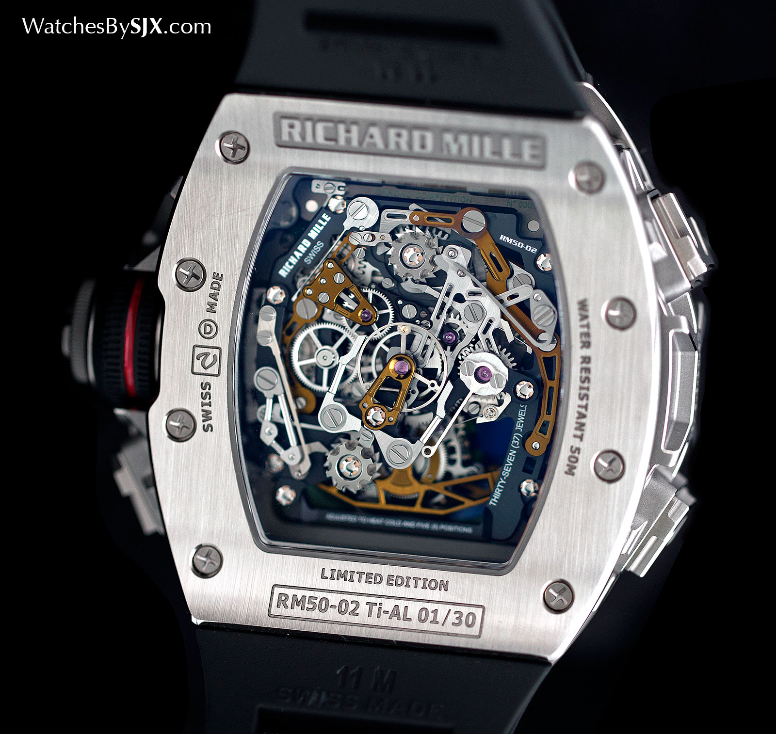 Richard Mille RM 50-02 ACJ Tourbillon Split Seconds Chronograph 4