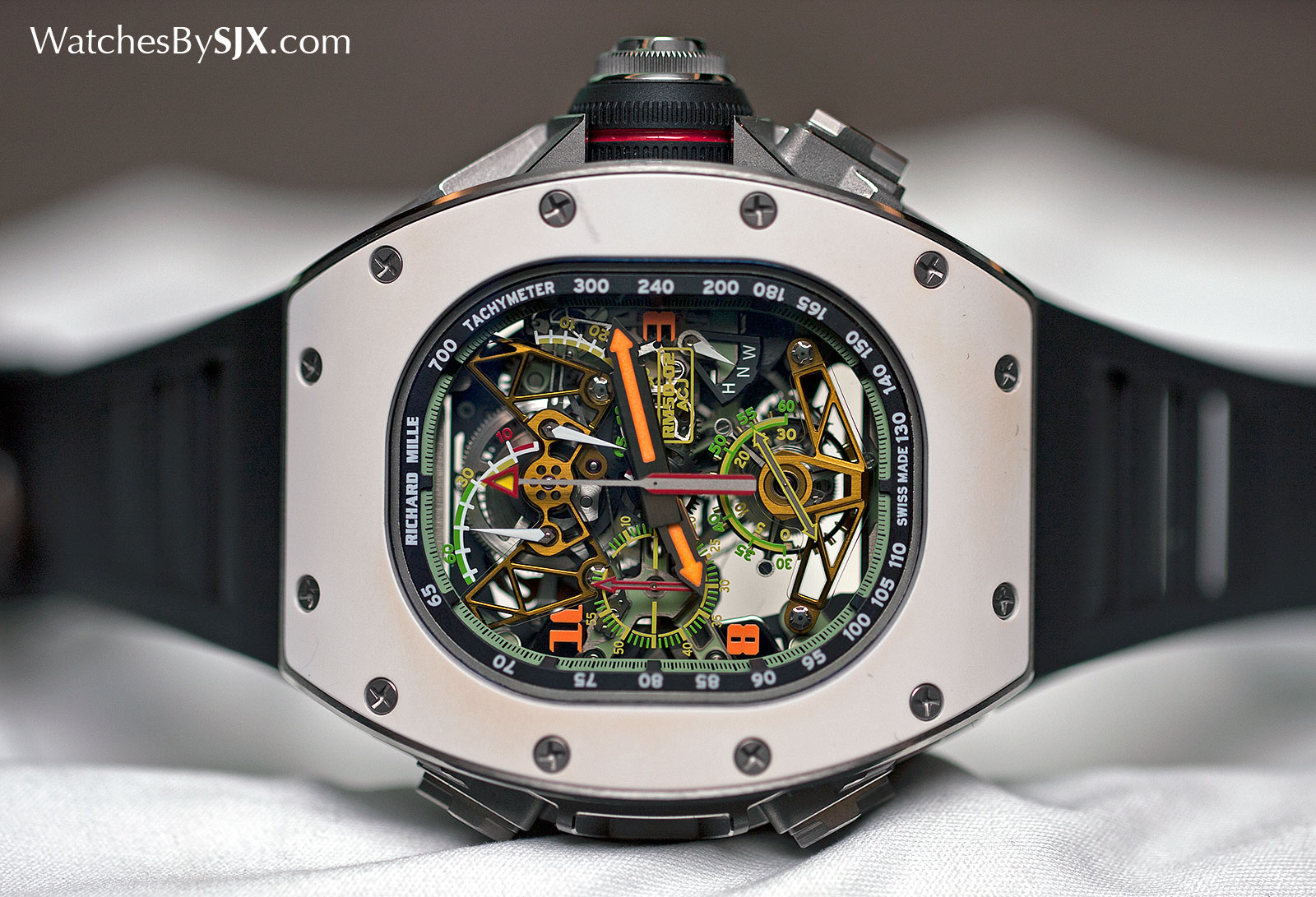 Richard Mille RM 50-02 ACJ Tourbillon Split Seconds Chronograph 7