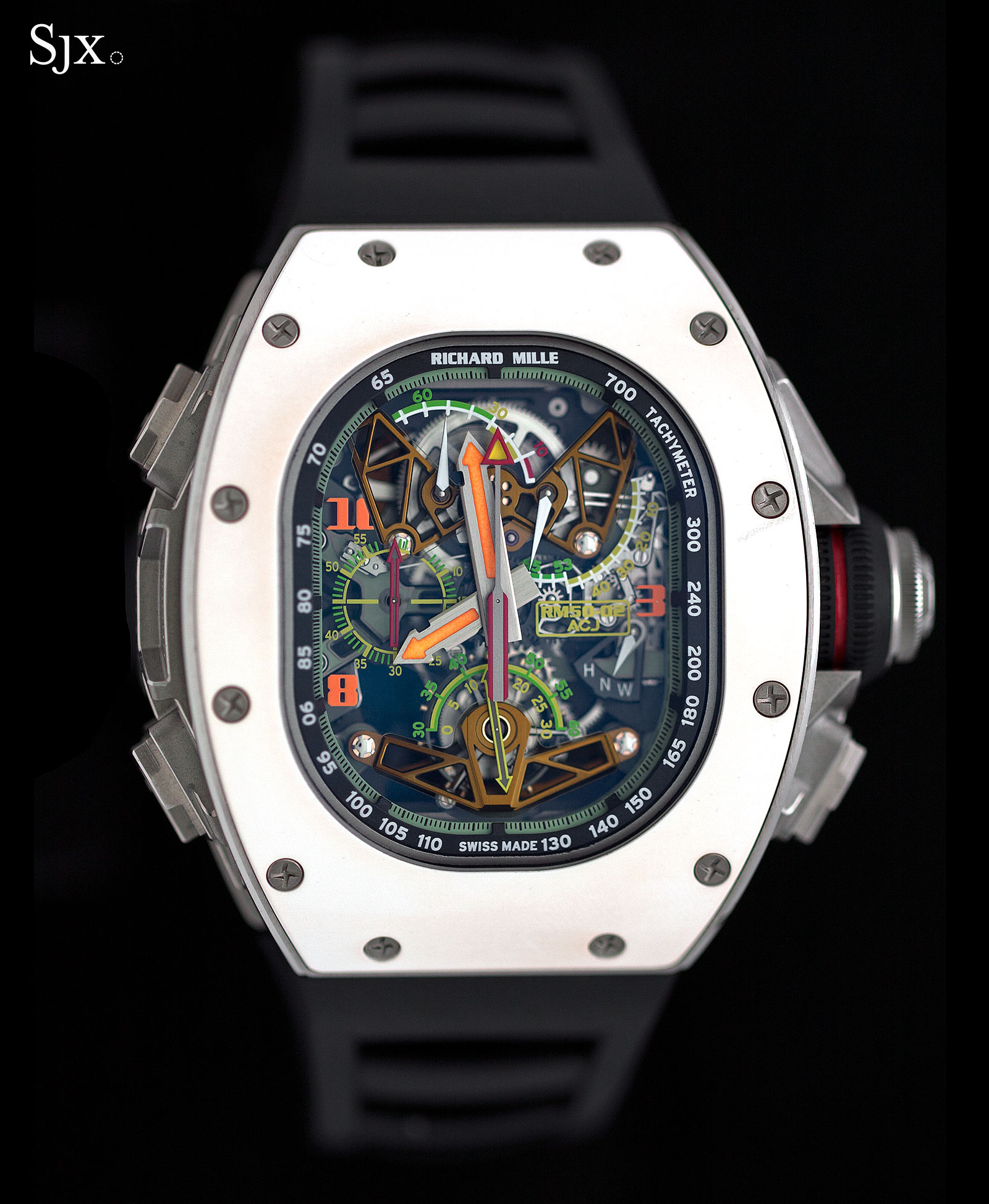 Richard Mille RM 50-02 ACJ Tourbillon Split Seconds Chronograph 9