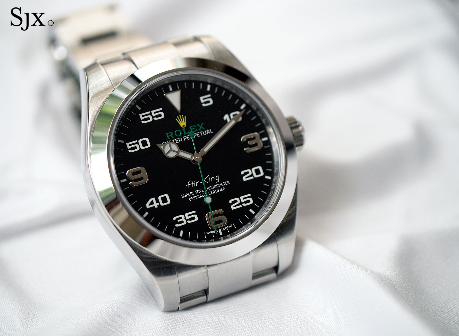 Hands On With The Rolex Air King Which Is Pretty Cool