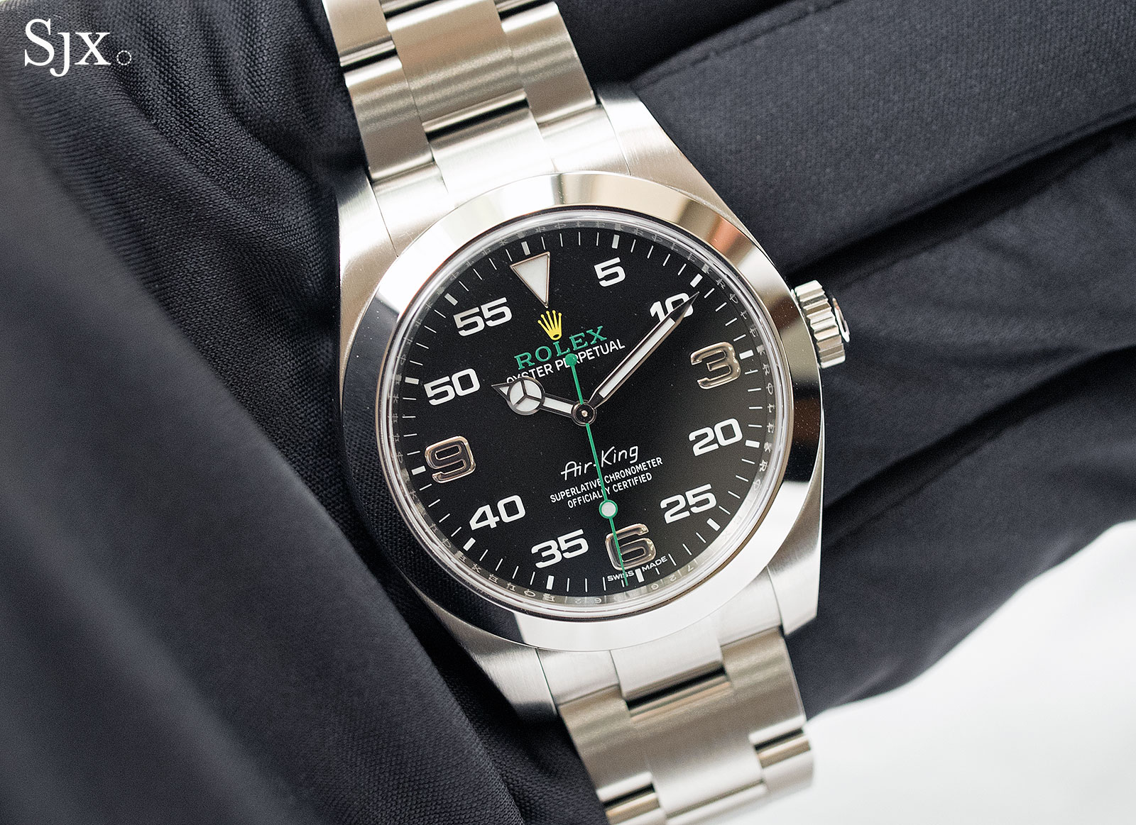 Hands on with the rolex air king which is pretty damn cool sjx watches for Rolex air king