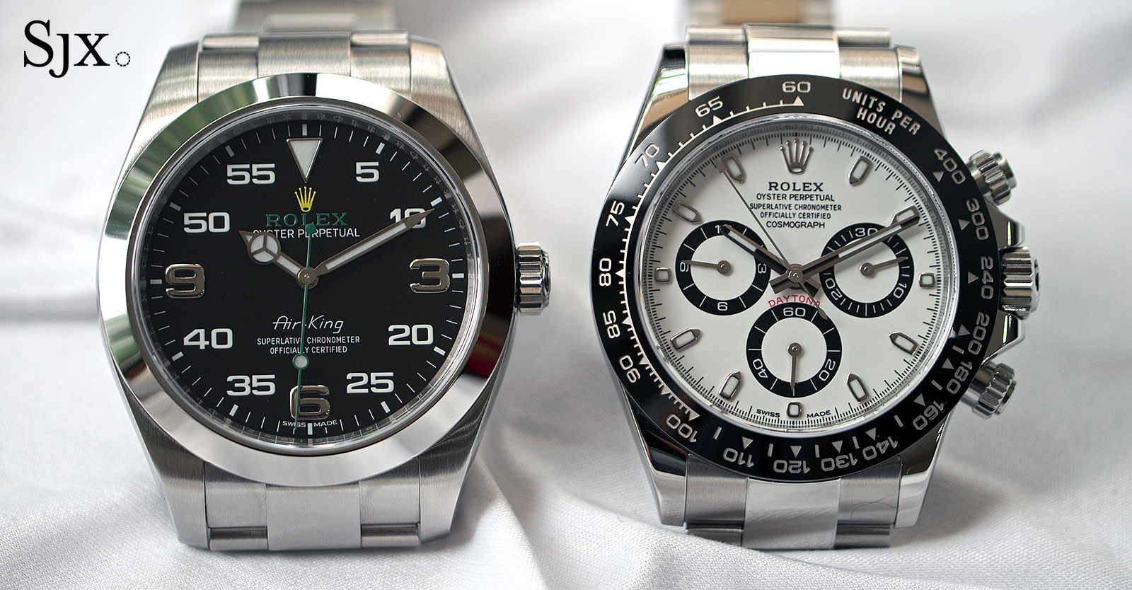 Rolex Air-King 116900 and Daytona steel ceramic