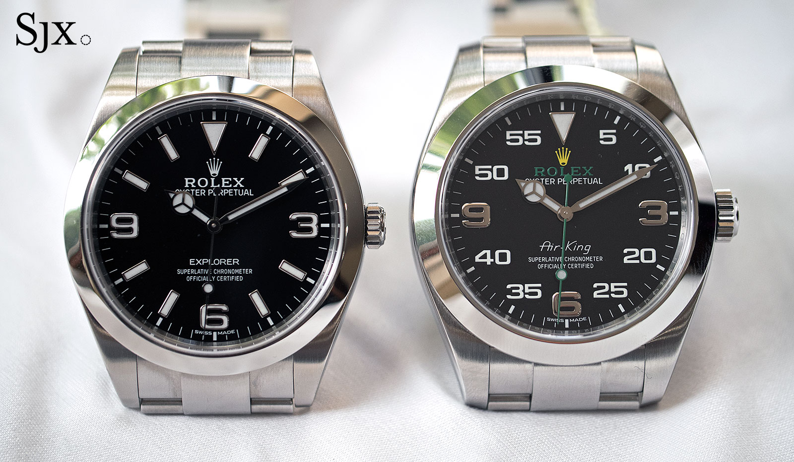 Rolex Air-King 116900 and Explorer
