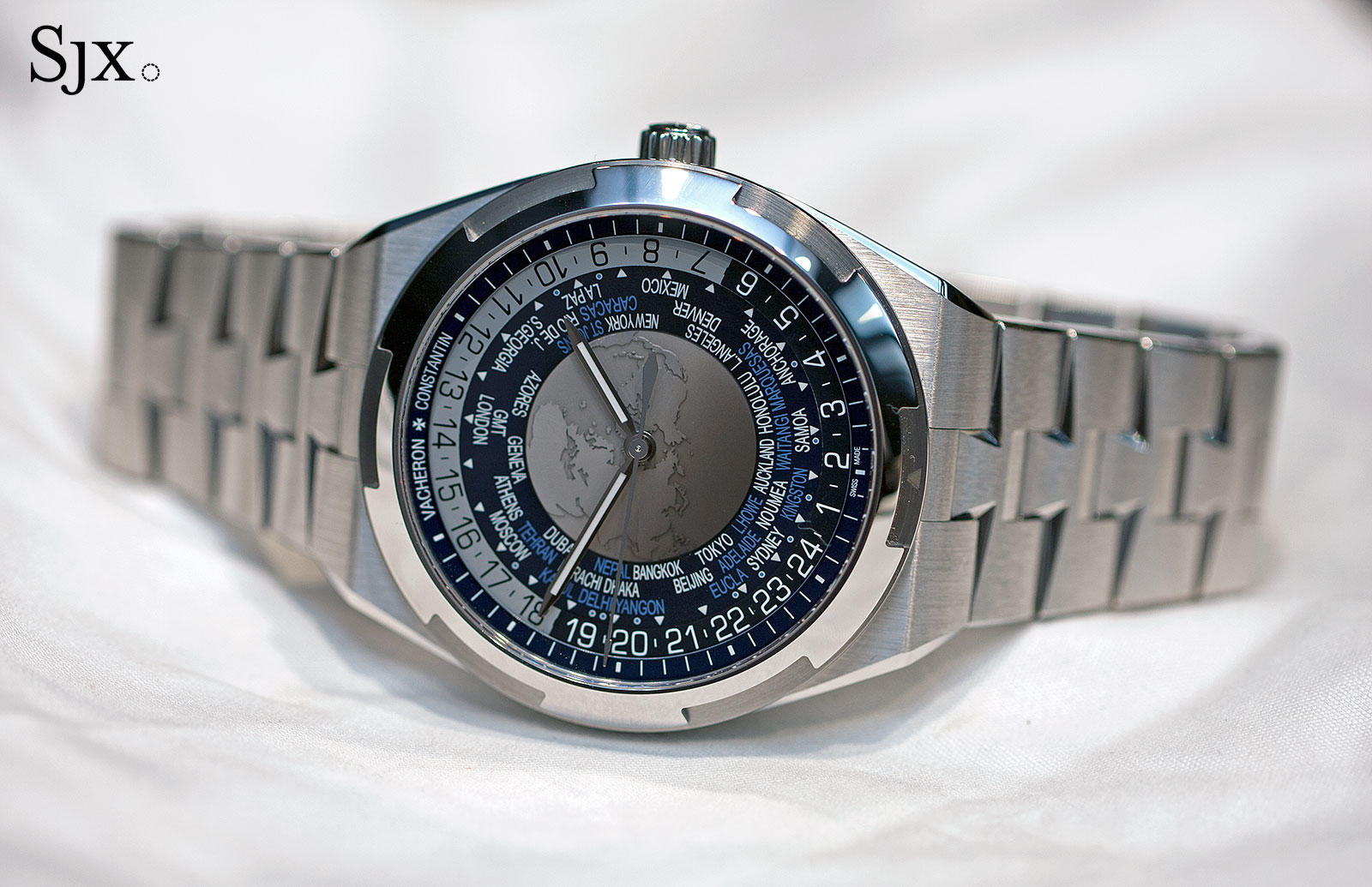 Vacheron Constantin Overseas World Time 2